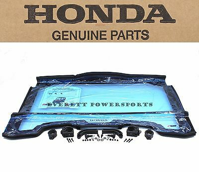 New Genuine Honda 2 Piece Folding Poly Windscreen Optical Grade SXS700 2/4 #P186