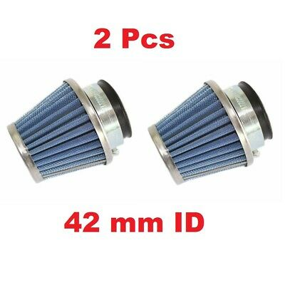 2 Pack of 42mm Air Filter GY6 125cc 150cc Scooter Moped ATV Quad Go Kart