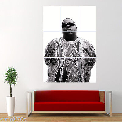 Notorious Big Biggie Smalls Poster Giant Print Large Wall Art Decor N3N4