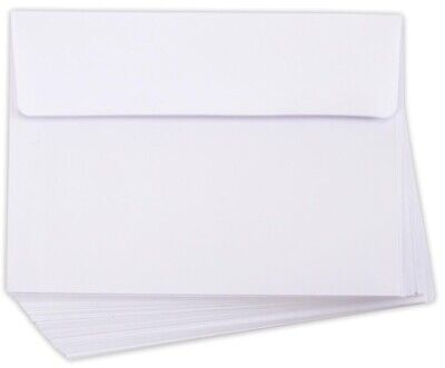 50 White Envelopes 5x7 Envelopes A7 (13cm x 18cm)