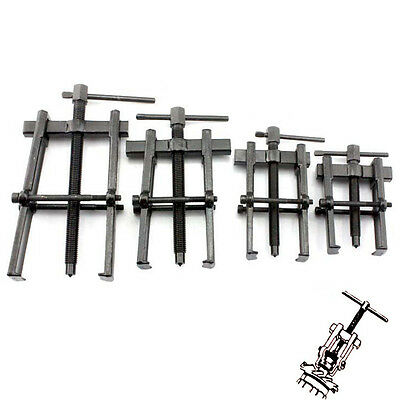 Two Jaw Twin Legs Bearing Gear Puller Remover Hand Tool Removal Kit