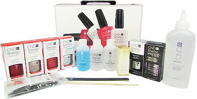 Cnd Shellac Chic Collection Starter Pack Kit Set