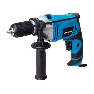 710 Watt Variable Speed Electric Hammer Action Power Drill Steel Concrete Wood