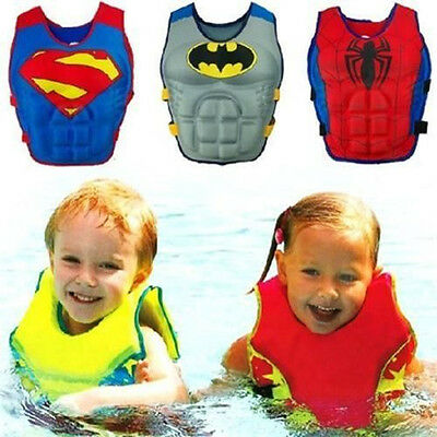 Child Kids Swimming Floating Swim Zip Vest Buoyancy Aid Jacket Pool Outfit Tool