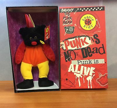Beanie Kids - Sammy the Punk Bear - Limited Collector's Edition