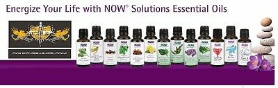 NOW Foods 1oz. Essential Oils For Diffusers & Burners! Improve Mood & Health