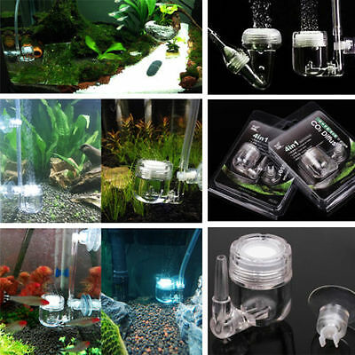 4 in 1 CO2 diffuser DIY CO2 system check valve  planted aquarium bubble counter