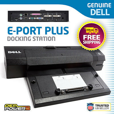Dell E-Port Plus Dock Station Replicator PR02X E6500 E5500 E5400 E4300 E4200 XT3