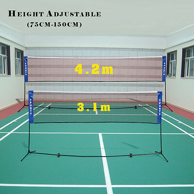 Protable Sports Net Netting Professional Training Volleyball Badminton Garden UK
