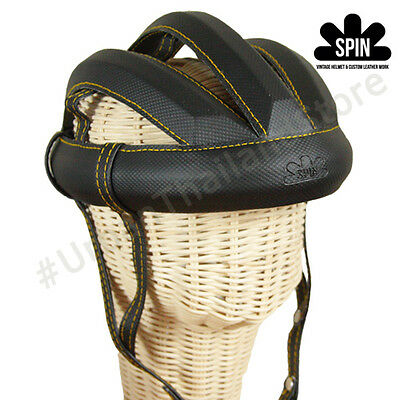 Spin Vintage Cycling Helmet L'eroica Italy Bicycle Retro 1980 Classic Outdoor