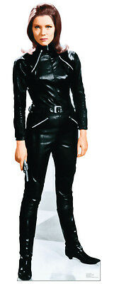 The Avengers Emma Peel Diana Rigg Lifesize Standup Standee Cutout Poster Figure