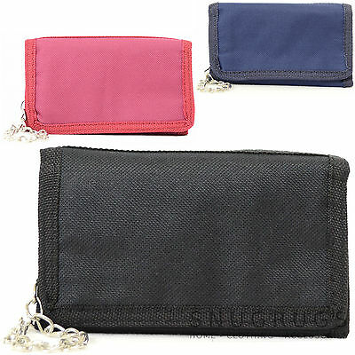 Mens / Boys / Ladies / Girls / Childrens Wallet / Purse With Chain