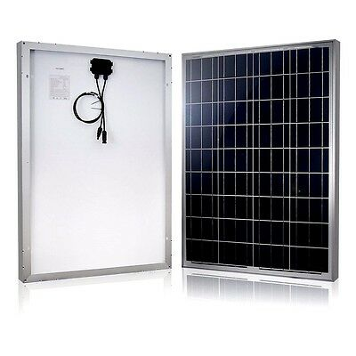 100W 12V Polycrystalline Solar Panel Panels Portable Electric Generator Camping