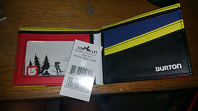 Brand new leather Burton wallet