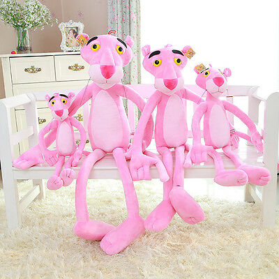 Cartoon Animation Pink Panther Stuffed Animal Plush Baby Toy Kid Doll Gift 90cm