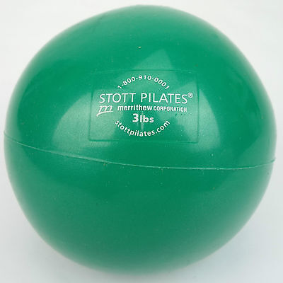 Stott Pilates 3lb Toning / Training weight ball (Free Delivery)