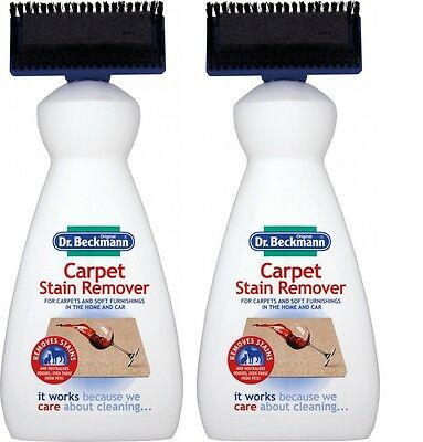 2 x Dr Beckmann Carpet Cleaner Brush 650ml, Cleaning, Upholstery, Stain Remover