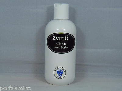 Zymol Clear Auto Bathe Car Wash Soap New