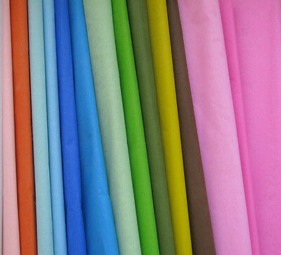 45 Sheets Premium Acid Free Tissue Paper multiColorful Gift Wrap Paper 500X500mm