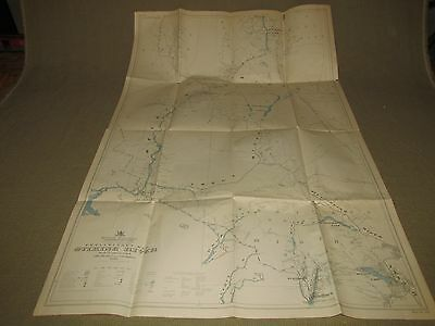 Stikine River Preliminary Map 1929 British Columbia Canada FREE US SHIPPING