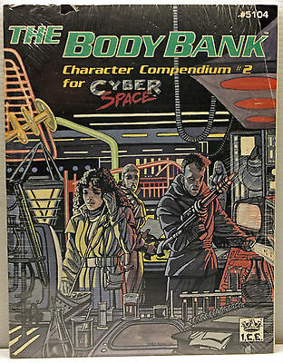 The Body Bank - Character Compendium #2 for Cyberspace - ICE#5104