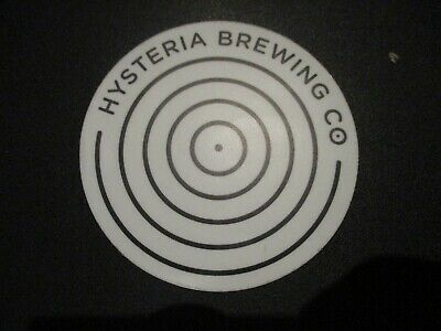 HYSTERIA BREWING CO Columbia Maryland STICKER decal craft beer brewery