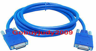 5PC x Smart Serial Back-to-Back Smart Serial DCE DTE Cable WIC-2T to WIC-2T 3FT
