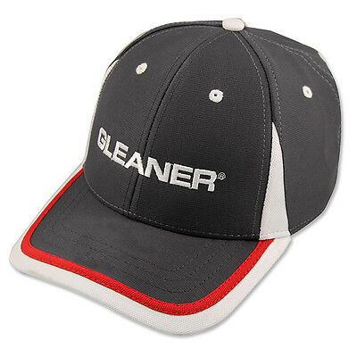 GLEANER *CHARCOL PERFORMANCE* Trademark Logo HAT CAP BRAND NEW GL04