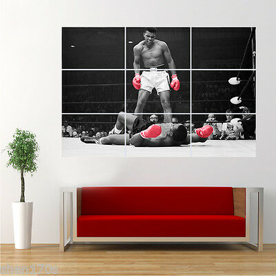 Muhammad ALI Boxing Poster Giant Print Large Wall Art Decor MR31