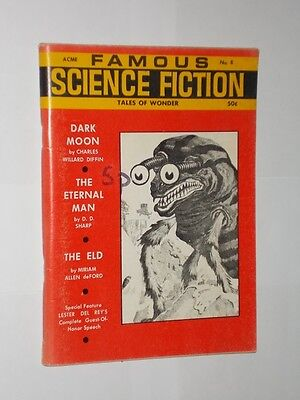 Acme Famous Science Fiction Tales Of Wonder Magazine. No.8 1968.