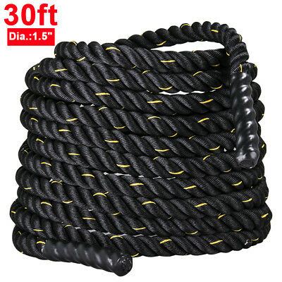 9M 38mm Battling Sport Exercise Fitness Bootcamp Training Gym Battle Power Rope