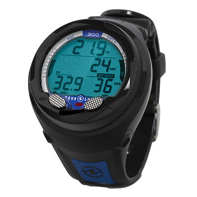Aqualung i300 Dive Computer - Black/Blue