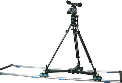 PROAIM  TDL275 Dolly with 12ft Straight Track & Free 75mm Tripod ( CINTDL-275 )