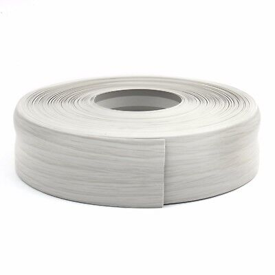 BIRCH FLEXIBLE SKIRTING BOARD 32mm x 23mm PVC protects edges floor wall cover