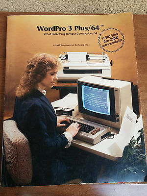 wordpro 3 plus/64 word processing for your commodore 64