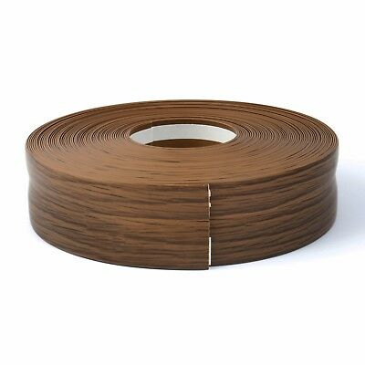 RUSTIC OAK FLEXIBLE SKIRTING BOARD 32mm x 23mm PVC versatility of applications