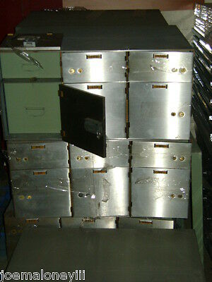 BANK SAFE SAFETY DEPOSIT BOXES 6 Compartment CABINET