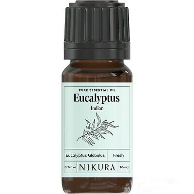 10ml EUCALYPTUS ESSENTIAL OIL - 100% Pure and Natural (Aromatherapy)