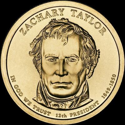 "2009 D Zachary Taylor Presidential Dollar ""Brilliant Uncirculated"" US Mint Coin"