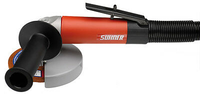 "Suhner LWG 12-H, Pneumatic/Air 12,000 RPM 4-1/2"" Right Angle Grinder"