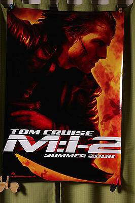Mission Impossible 2 Teaser DS poster 27x40 Original