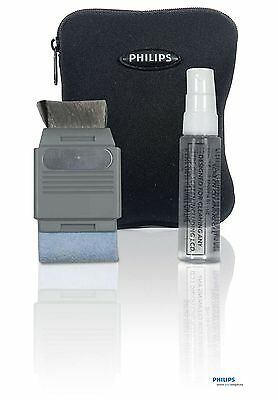 Philips GPS Screen Cleaning Kit + Storage Case Safety Clean Mobile Phone Radio