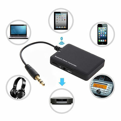 Wireless Bluetooth 4.0 Audio Stereo Music Receiver 3.5mm Car Aux Adapter A2DP