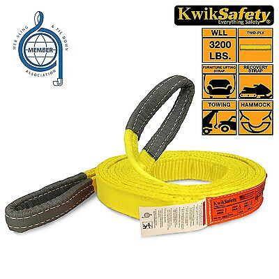3X16 FT Polyester Lifting Sling Strap ENDLESS 3 inch 16 feet LENGTH FEET