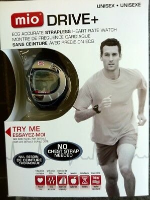 Mio ECG Accurate Strapless Heart Rate Watch - Mens