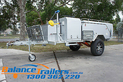 Deluxe Off Road Hard Floor Camping Camper Trailer
