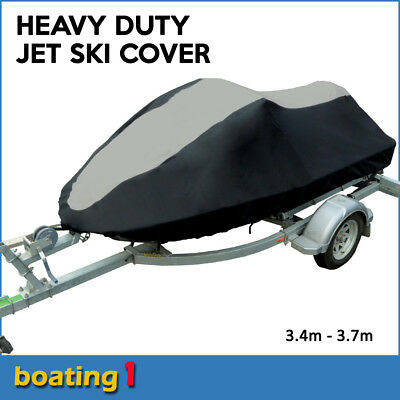 Jet Ski Cover Large 3.4m-3.7m For Sea Doo Yamaha Kawasaki Wave Runner JetSki