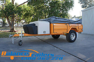 Walk In Off Road Soft Floor Camping Camper Trailer 4X4 4WD Caravan