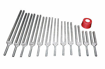 Mineral Deficiency 12 Healing Tuning forks w Activ & Pouch, Express Shipping