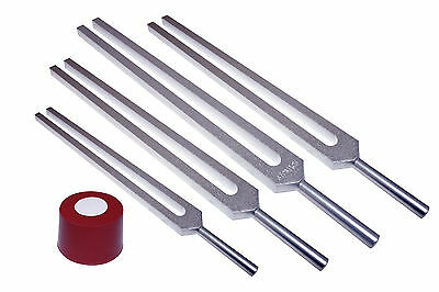 Upgrade from Harmonic to Fibonacci Healing Tuning Forks w Activator + Pouch